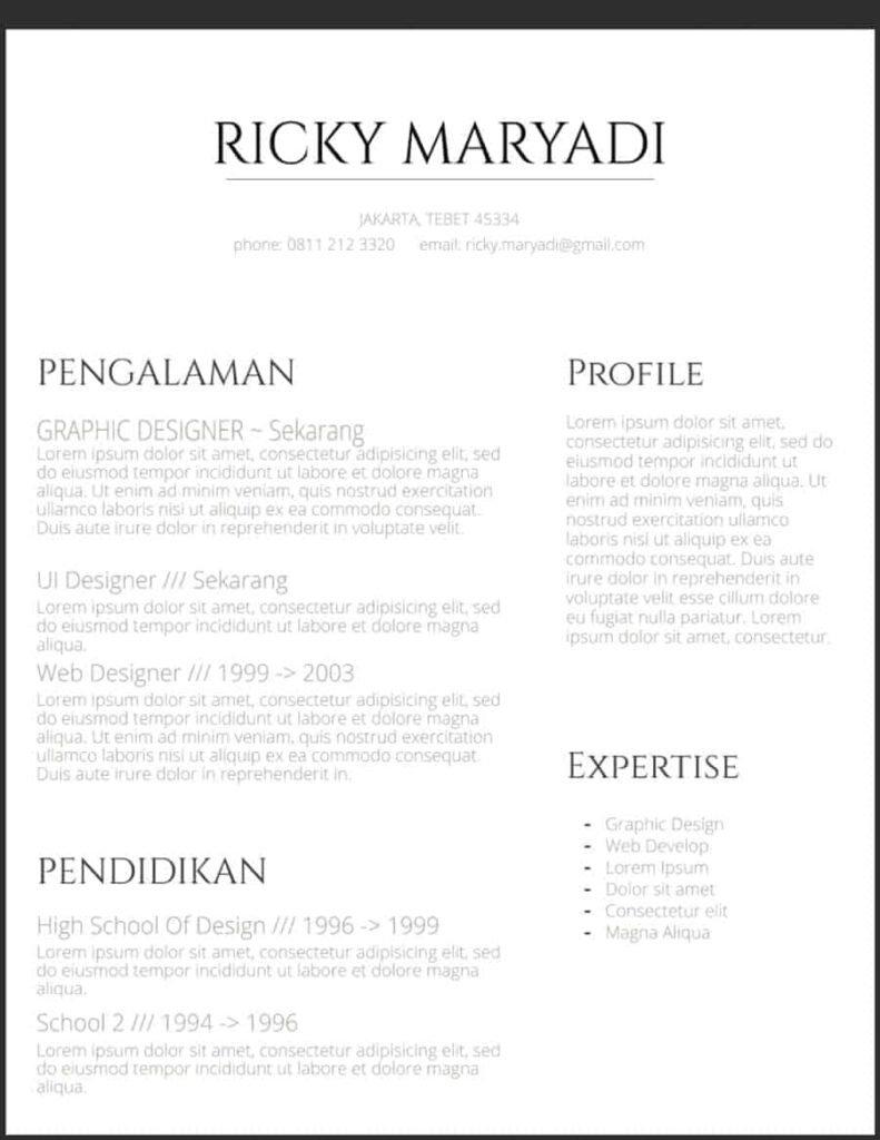 Curriculum-Vitae-Grapik-Desainer