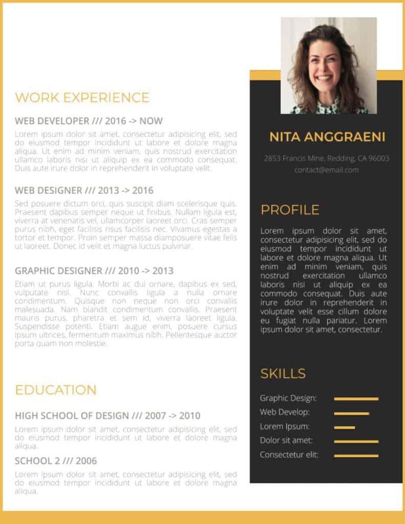 Curriculum-Vitae-Web-Developer