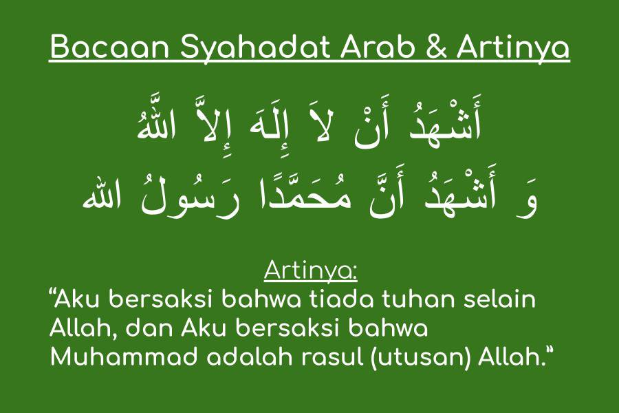 Bacaan-Syahadat-Arab-Artinya