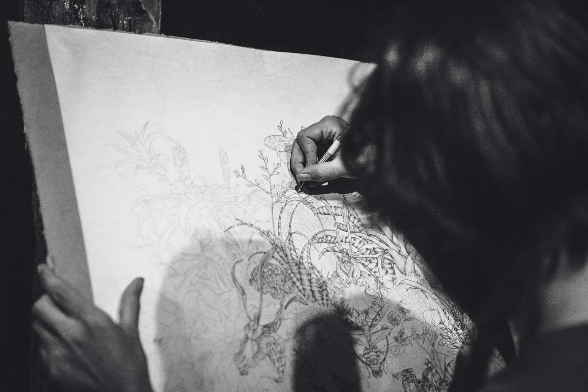 Contoh Karya Seni Rupa 2 Dimensi Dan Seni Rupa 3 Dimensi